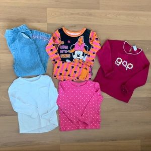 Bundle of 8 size 3T Toddler Girl Clothes